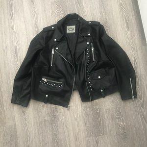 Levi's moto jacket size 2X